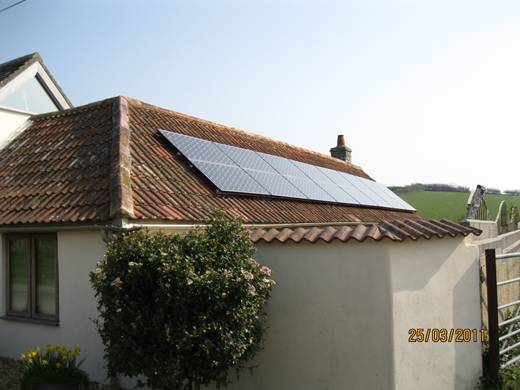 solar panel-Corfe Castle Solar PV
