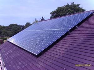 solar panel-Mr Bell