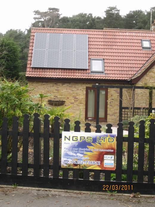 solar panel-PV for Mr and Mrs Lambert-2