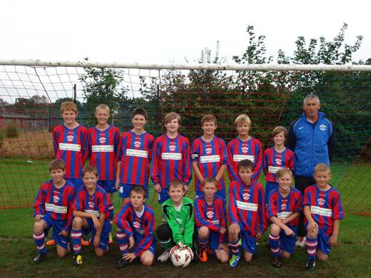 Special feature panel-Dexters Under 13 Football team