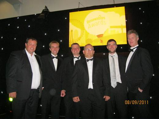 Special feature panel-Renewables Industry Awards 2011- Ricoh Arena Coventry - NAPIT