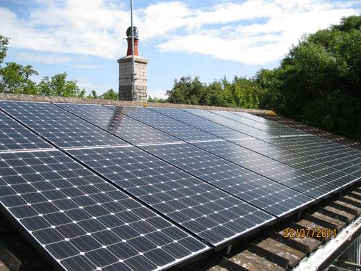Special feature panel-Solar PV for Mr and Mrs W in Swanage