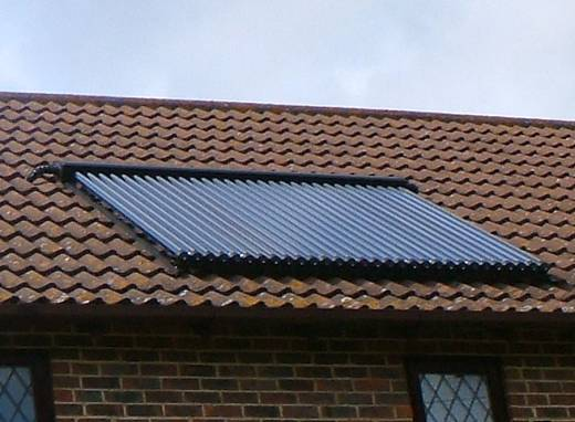 Special feature panel-solar thermal install