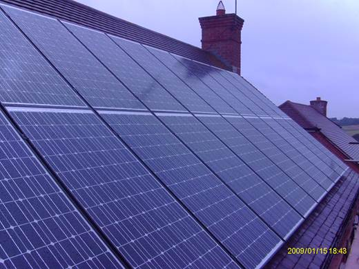 solar panel-20 Schott Mono 190 modules for Mr and Mrs F in Blandford