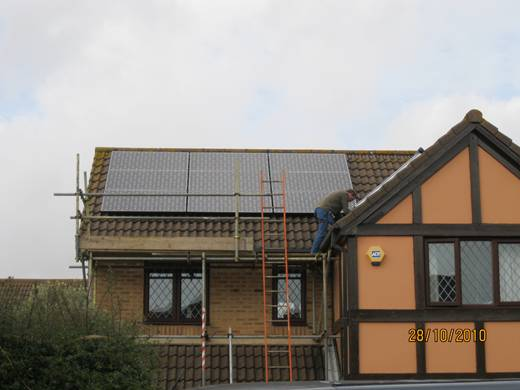 solar panel-A Sanyo HIT 240 watt installation in Talbot Village-3