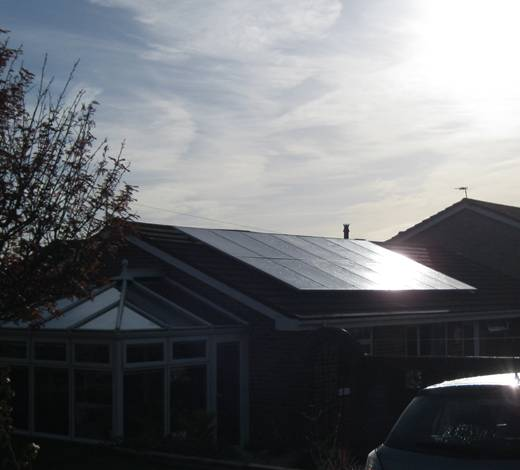 solar panel-Mr Webber PV installation in Broadstone, Poole