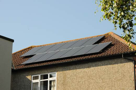 solar panel-Mr and Mrs B in Portsmouth