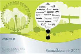 solar panel-Renewables Awards 2012