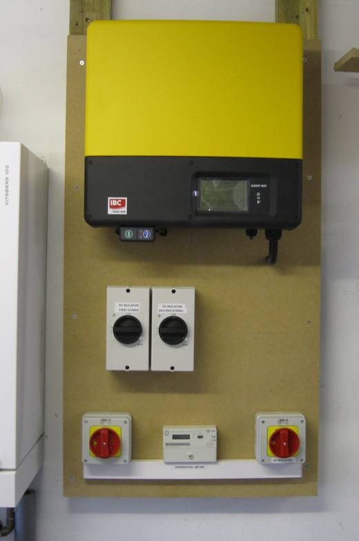 solar panel-Solar inverter installation -1
